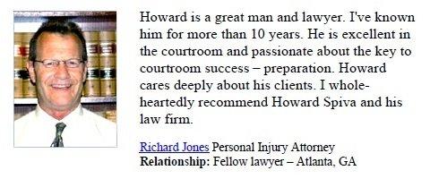 Personal Injury Attorney Richard Jones