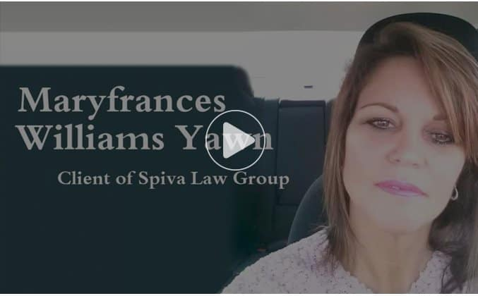spiva law personal injury client